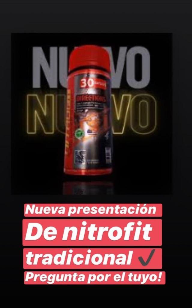 Nitrofit Rojo para Bajar de Peso