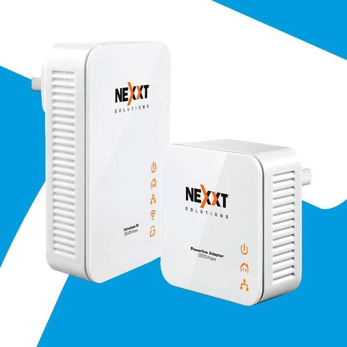 Acp -kit Extensor Wifi Nexxt A Traves Sistema Electrico !!
