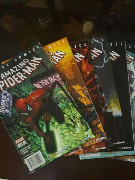 Comics de Spiderman 1-12