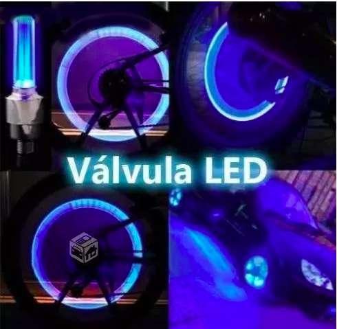 Luz De Led Para Carro Tapa Válvula X 2 Unidades