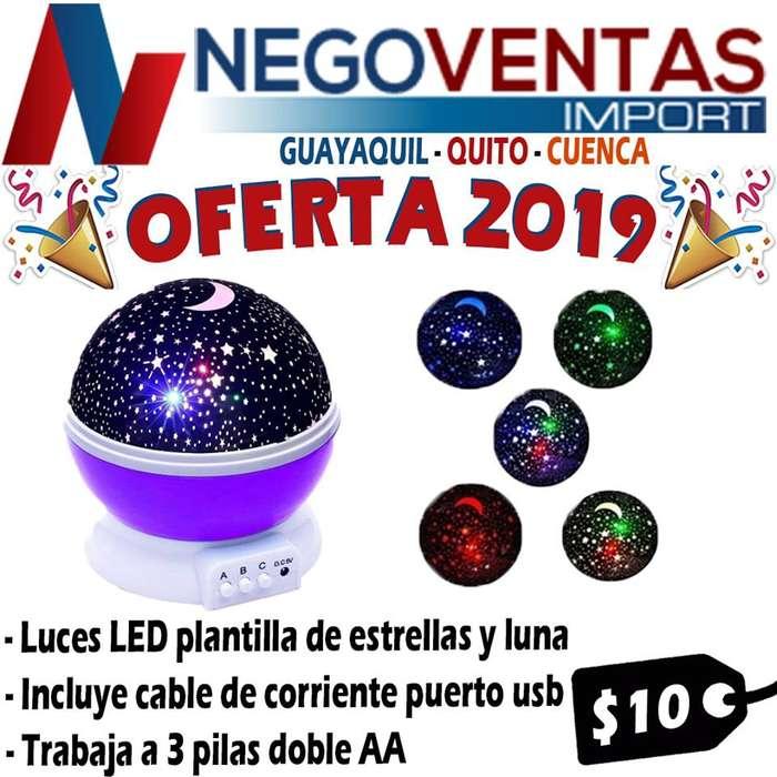 LAMPARA LED DE ESTRELLA PARA NIÑOS DE OFERTA