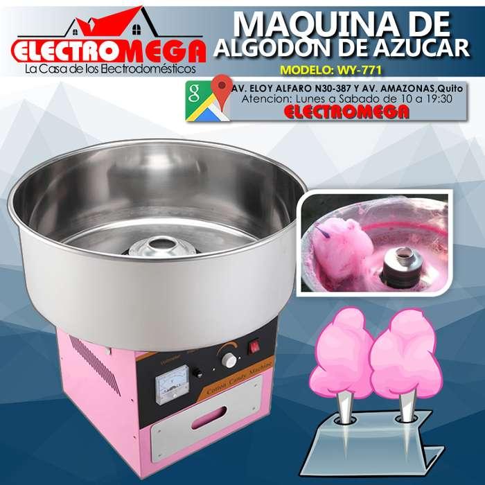 MAQUINA DE ALGODON DE AZUCAR NUEVA WY711