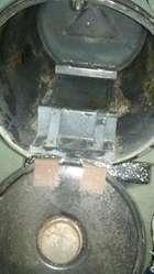 horno sobre hornalla camping o rodante