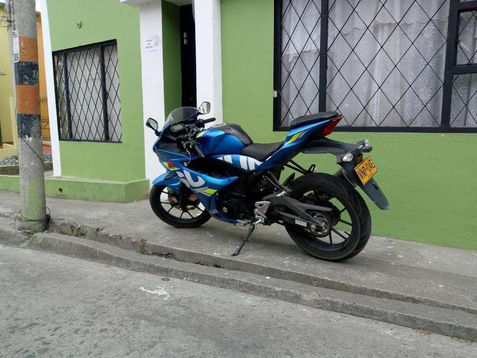 Vendo Moto Suzuki Gsx R 150 Mod 2019