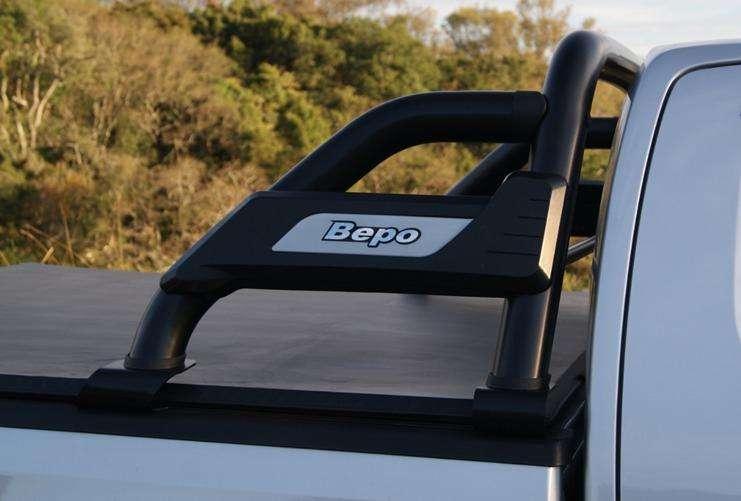 Barra Antivuelco Negra Ford Ranger XLS
