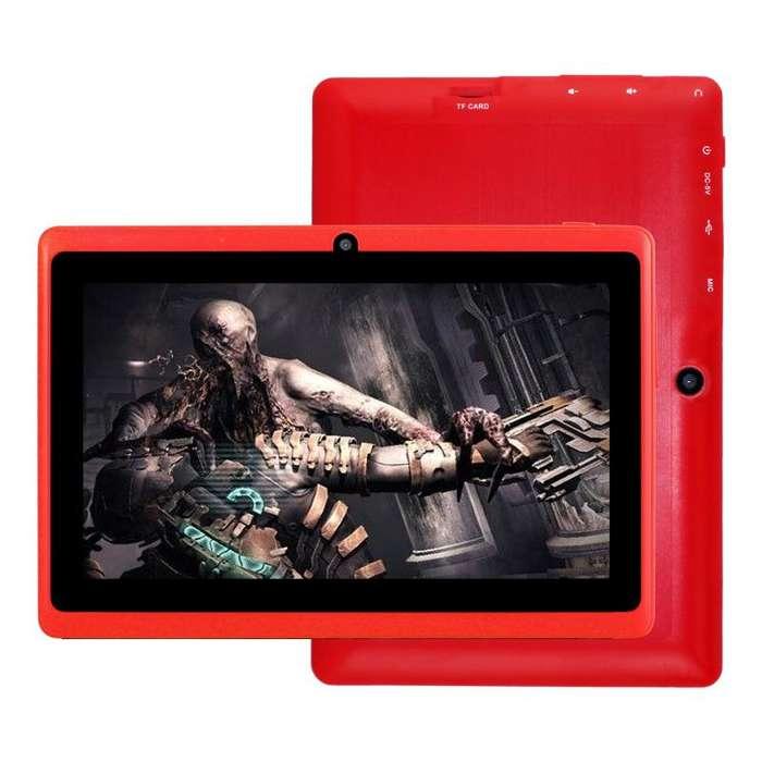tablet 7 pulg android 5.1 doble <strong>camara</strong> flash quad core redes juegos ram 1 gb rom 8 gb nuevas garantia