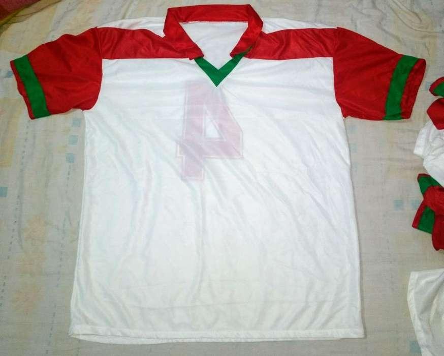 Juego de Camisetas Numeradas 7 Unidades