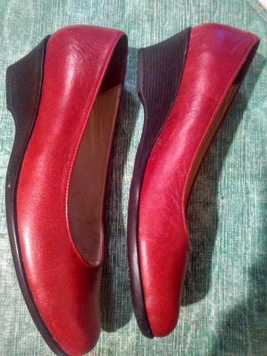 Zapatos en puro Cuero Talla 37
