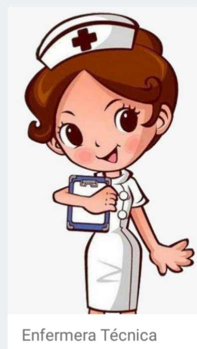 Enfermera cuido Pacientes a Domicilio