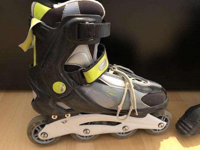 Roller Skate! Muy buenas condiciones, KIT COMPLETO CON PROTECCIÓN!