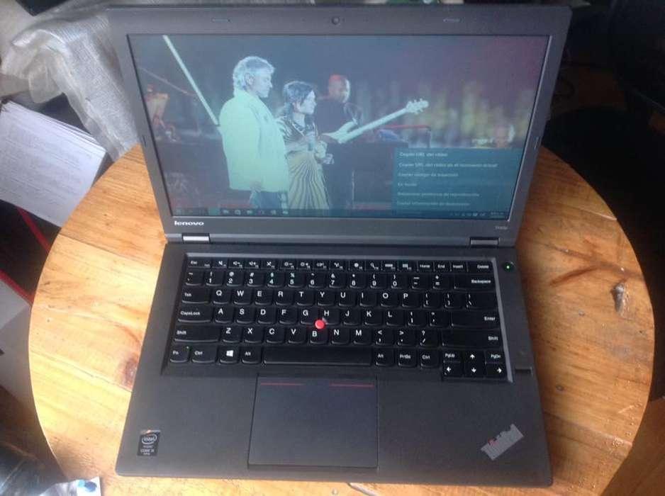 Lenovo thinkPad T440P CASI NUEVO. i5 4ta generacion de 2.60 GHZ 8 GBRAM disco 500GB