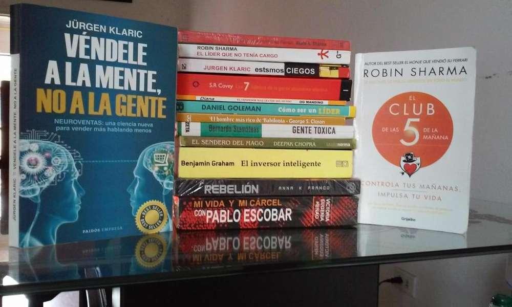 Libros (Desarrollo personal) A domicilio.
