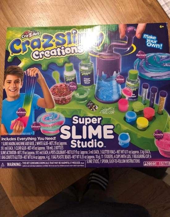 Super Slime Studio Entrega INMEDIATA . super slime studio laboratorio