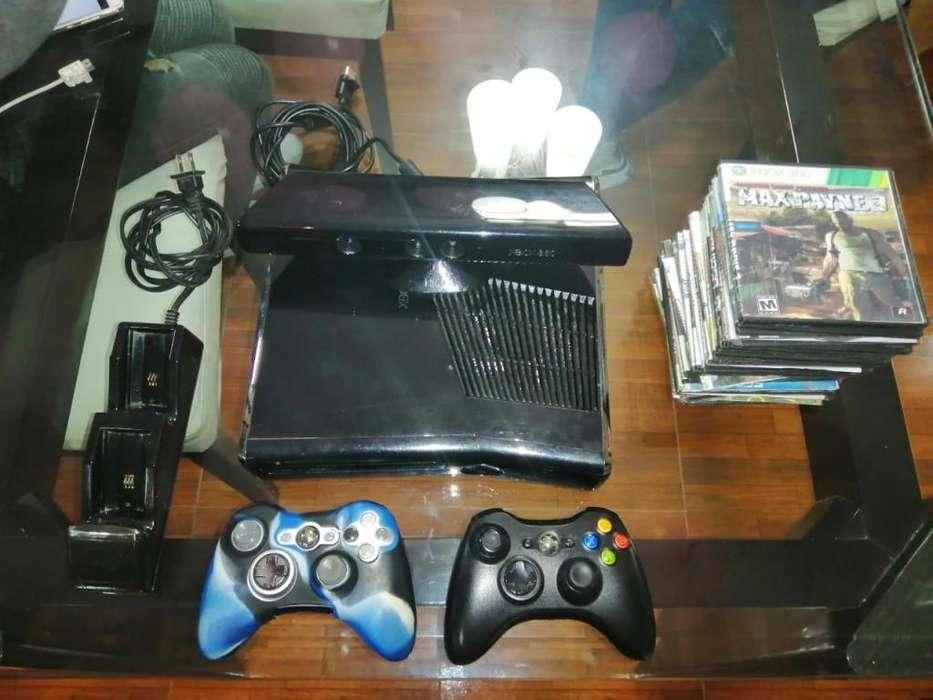Xbox 360 250 GB 2 controles actualizacin 30