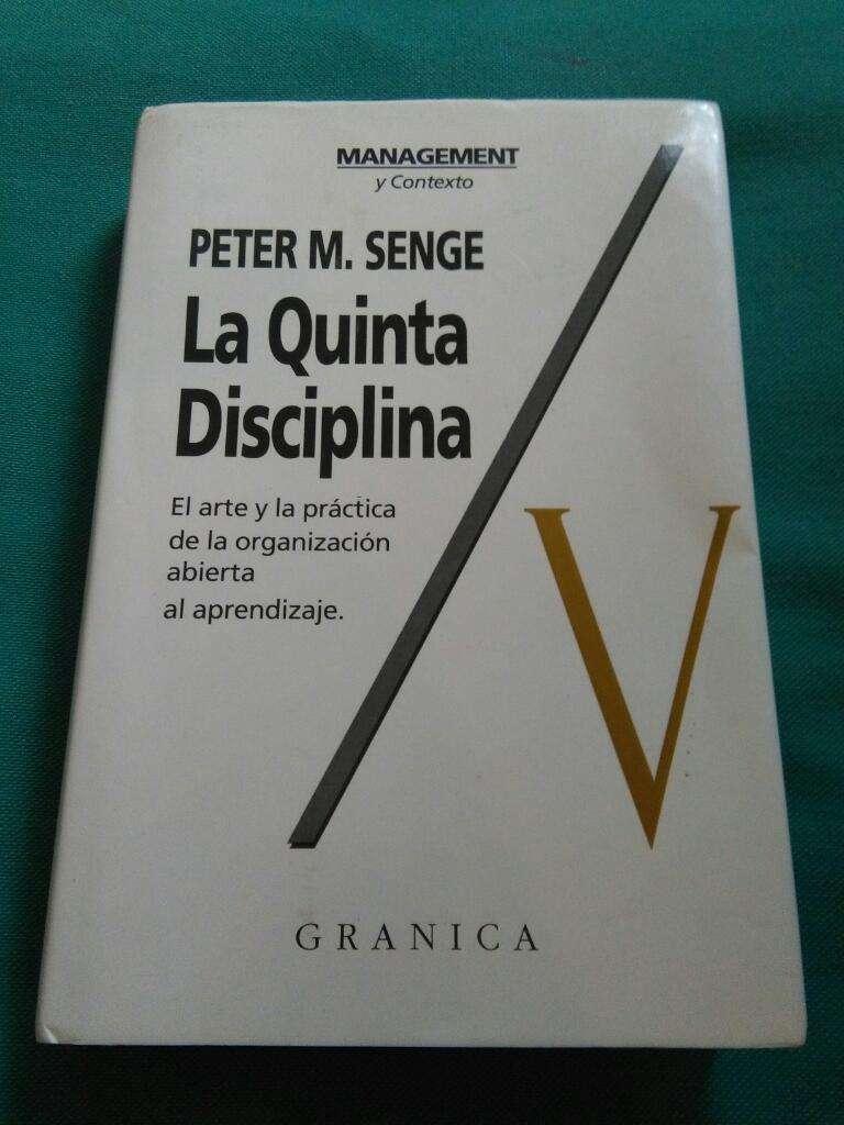 La Quinta Disciplina . Peter Senge . Libro Management . Granica