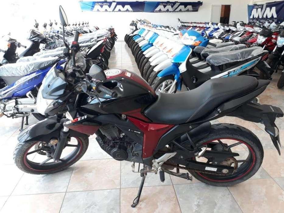 <strong>moto</strong> Suzuki Gixxer 150 Muñoz Marchesi