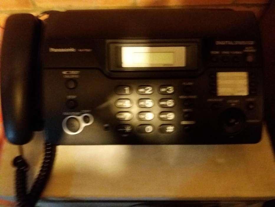 <strong>fax</strong> TELÉFONO MARCA PANASONIC ELECTRONICO