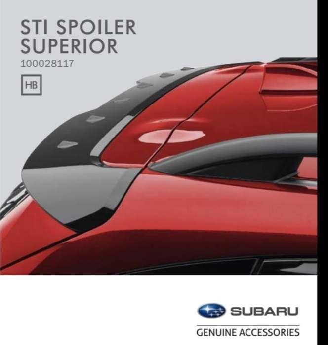 Vendo Spoiler Sti Subaru Impreza Sport