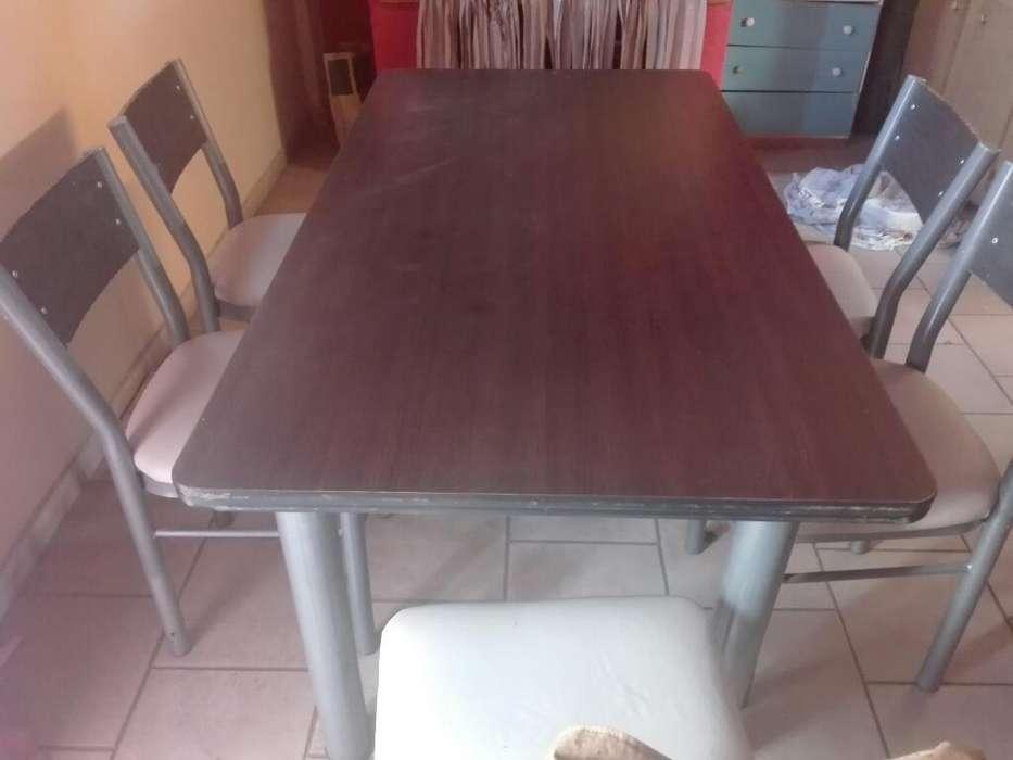 Vendo Juego Mesa Y 6 <strong>silla</strong>s Ex Estado