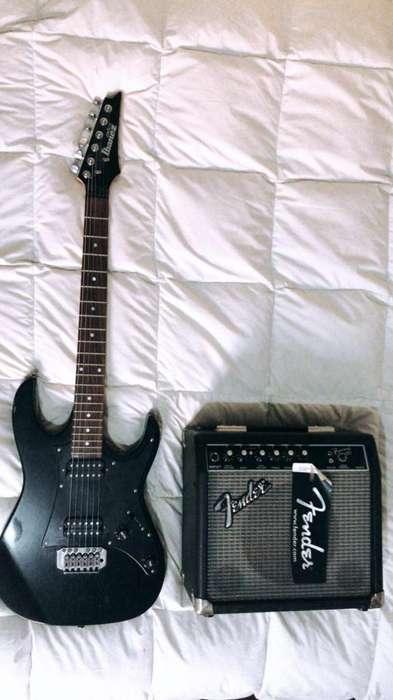 Ibanez Gio - Amplificador Fender