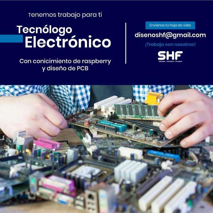 Tecnólogo electrónico