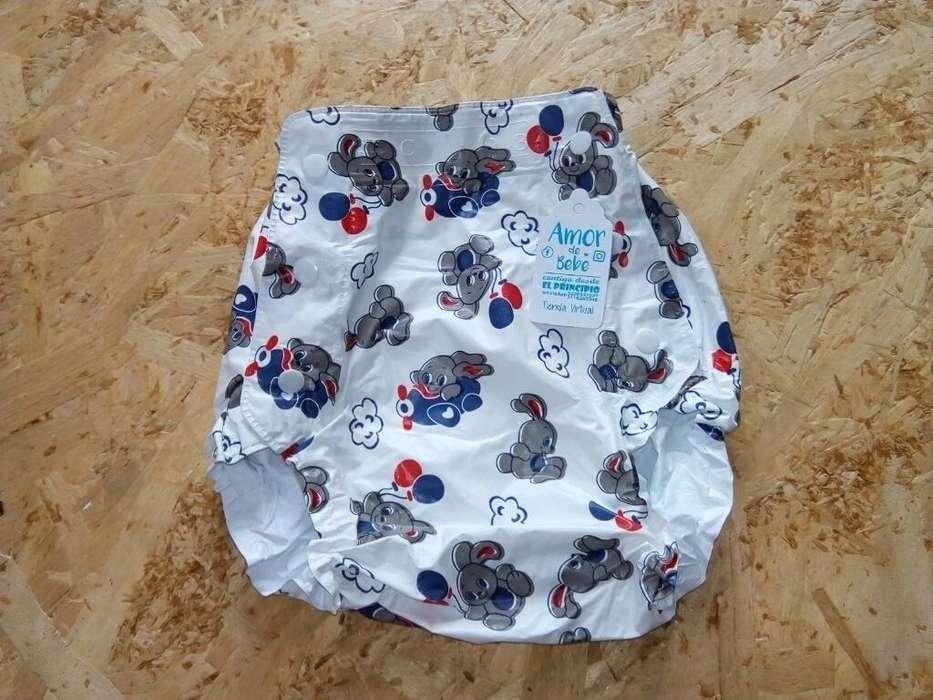Pantalon Plástico Bebe
