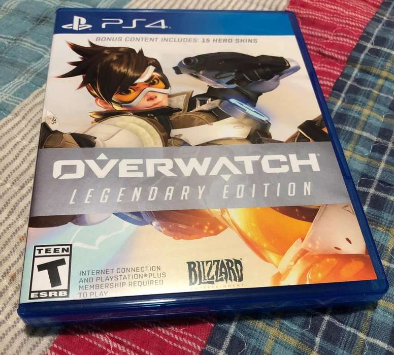 Overwatch Ps4 Edicion Legendaria
