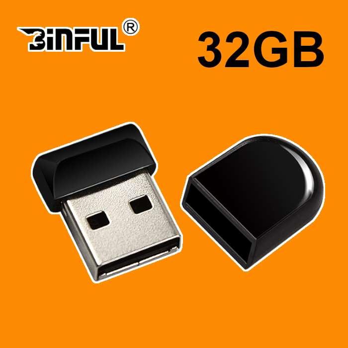 Memoria Usb 2.0 Mini Flash Drive 32 Gb Binful
