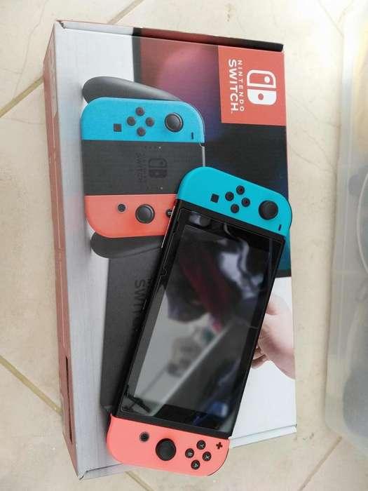 Nintendo Switch Recin comprada