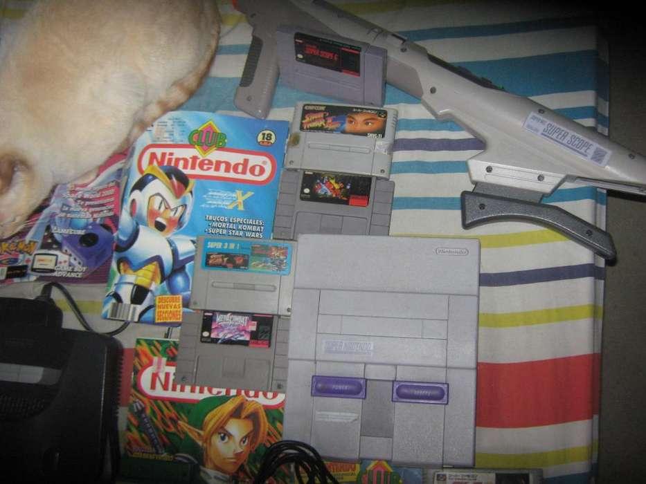 consolas y juegos de nintendo 64 y super nintendo