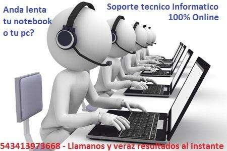 Soporte tecnico Informatico Online