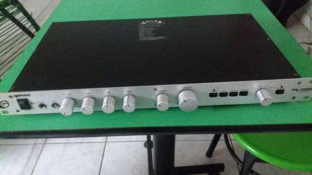 Pre Amplificador Gemini