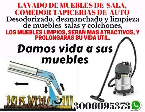 LAVADO DE MUEBLES COLCHONES
