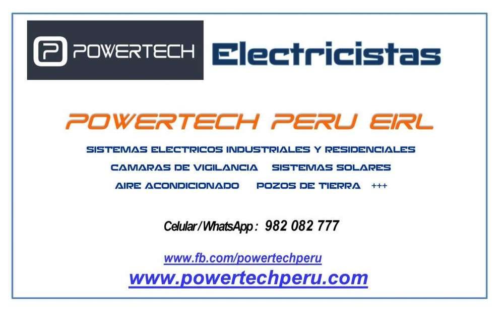ELECTRICISTAS EN HUANUCO: DOMESTICO-COMERCIAL-INDUSTRIAL.