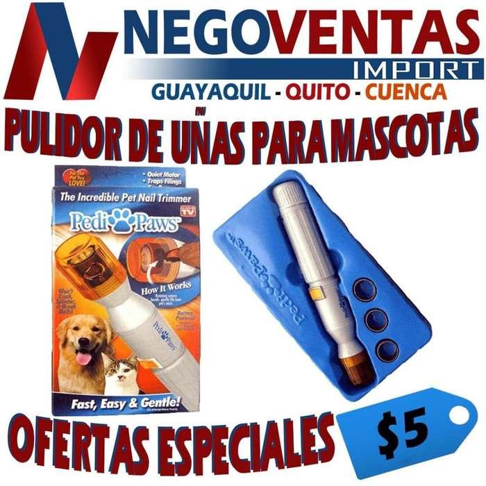 PULIDOR DE UÑAS PARA MASCOTAS