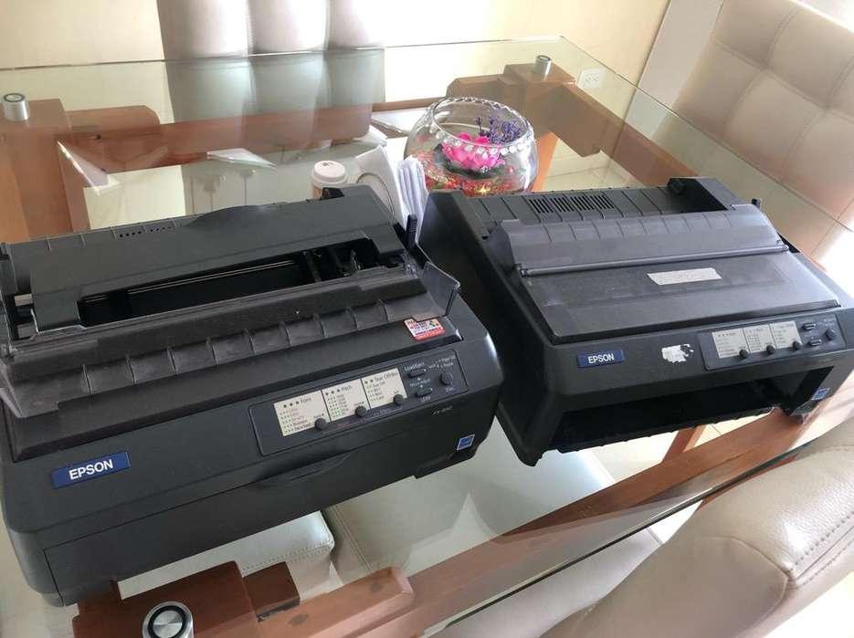 Venta de 2 Impresoras de Punto Fx-890