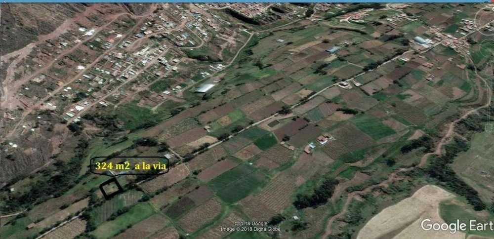 terreno en tancarpata 162 m2 180 dolares m2 a la via