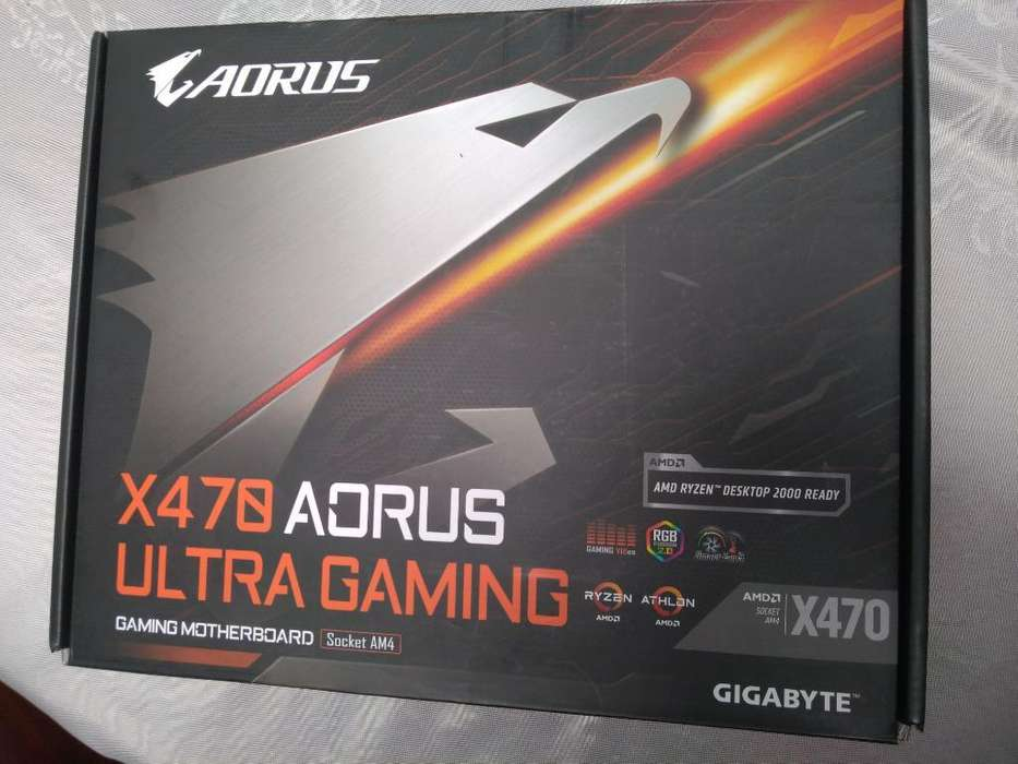 Board Aorus X470 Ultra Gaming Am4 Ryzen