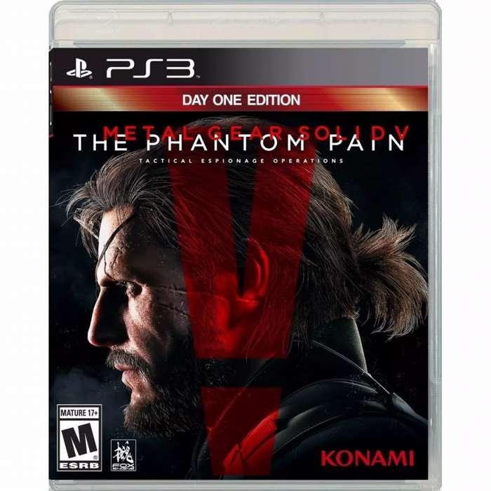 Juego Ps3 Metal Gear Solid V The Phantom Pain Nuevo