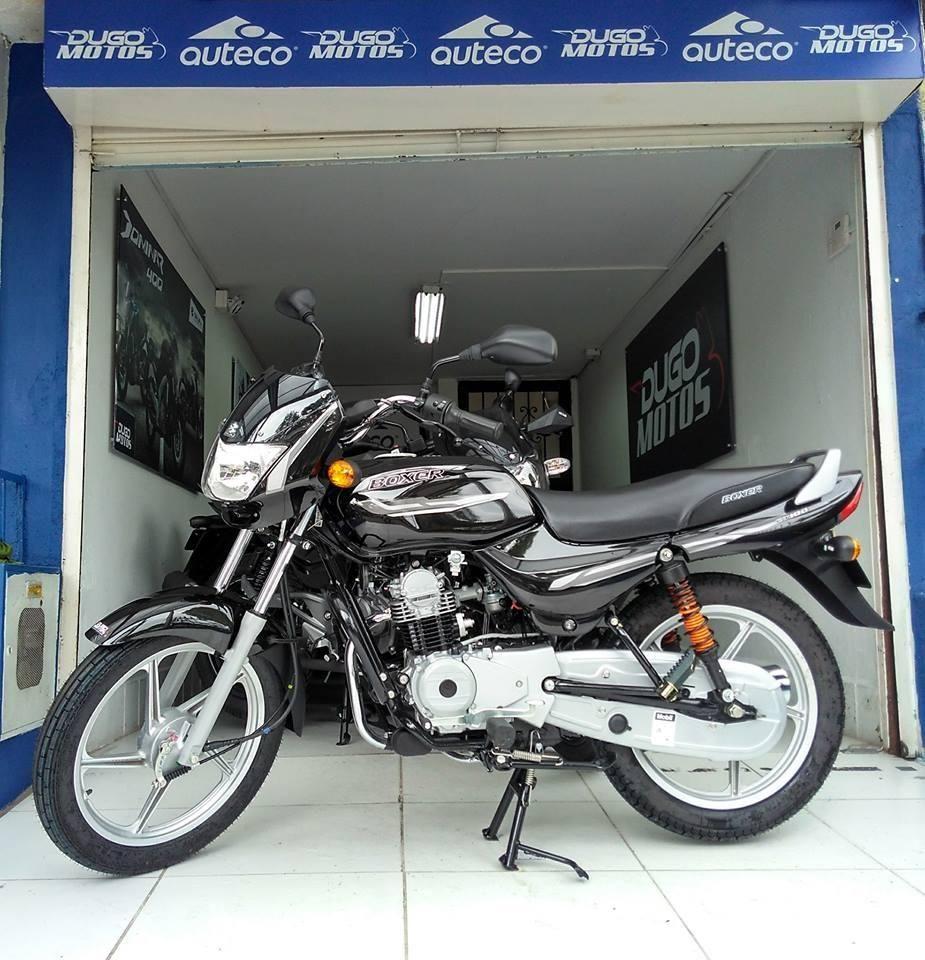 Boxer CT 100 Titanium nueva! Recibimos tu moto usada en parte de pago!
