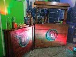 FOOD TRUCK Y BARRA MOVIL