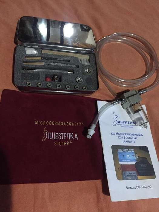 Kit de Microdermoabrasion, con puntas de