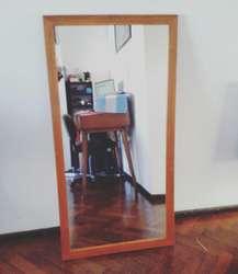 Espejo Marco de Madera de 1.25x93
