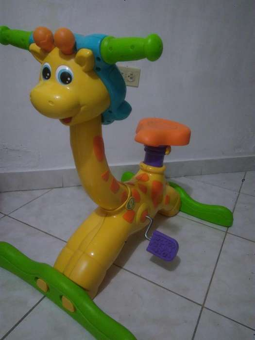 Jirafa Didactica Bicicleta estatica FisherPrice Whatsapp 301 389 6170
