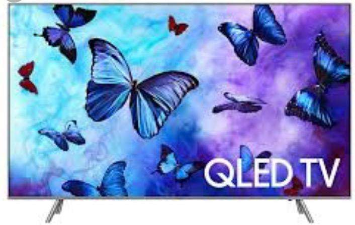 Tv Plana-Samsung Qled 55 Pulg
