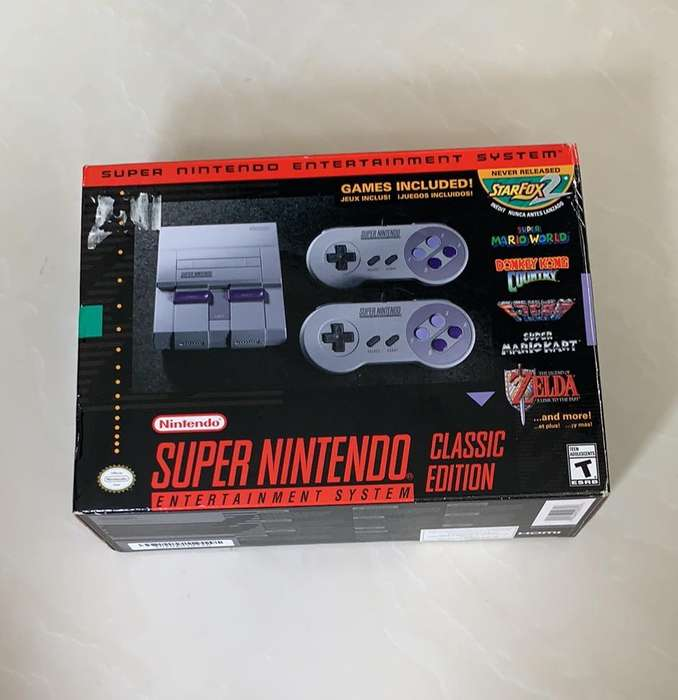 Super Nintendo Snes Classic Edition