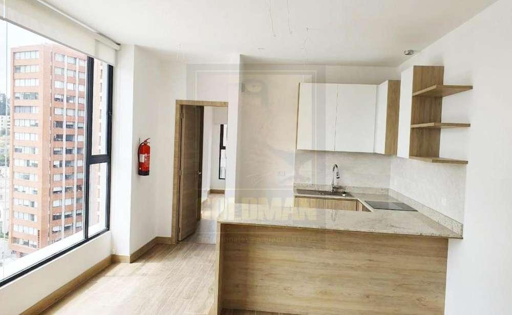 12 de Octubre, departamento, 75 m2, alquiler, 2 habitaciones, 2 baños, 1 parqueadero