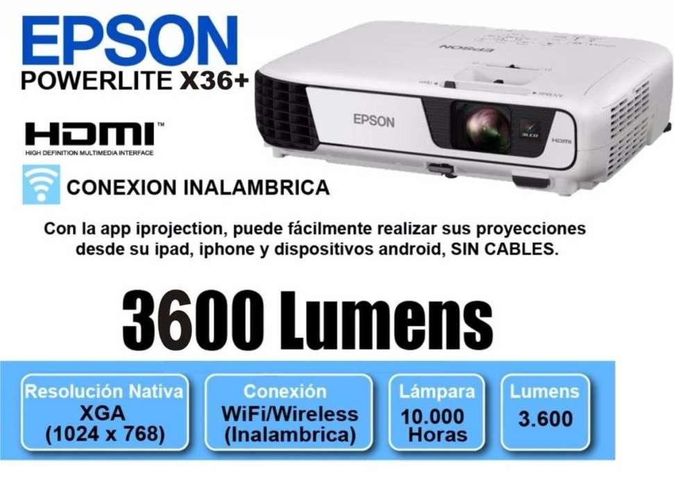Vendo EPSON POWERLITE X36 NUEVO BUCARAMANGA 3209635888