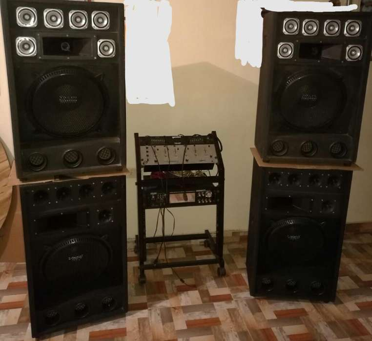 Se Vende Equipo de Sonido Full
