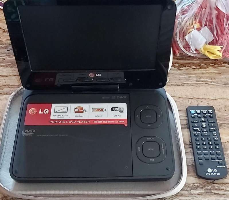 Vendo Dvd Player Portatil